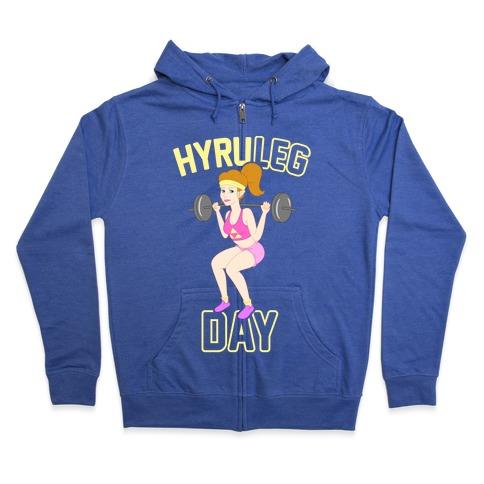 HyruLEG DAY Zip Hoodie