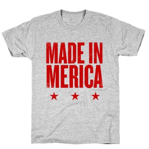Made In Merica Mens/Unisex T-Shirt