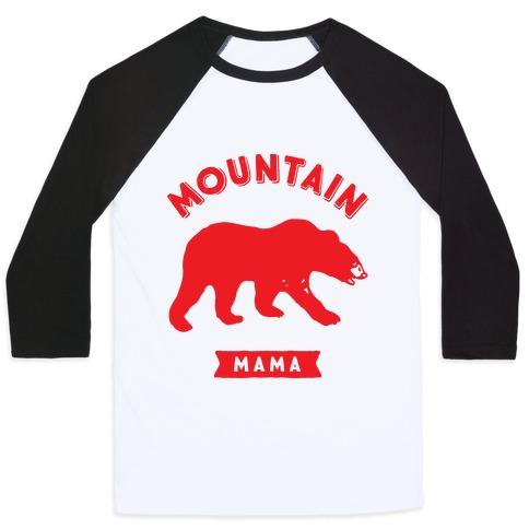 Mountain Mama Baseball Tee