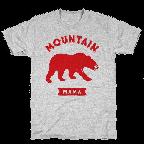 Mountain Mama Mens T-Shirt