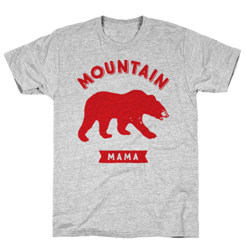 Mountain Mama Mens/Unisex T-Shirt