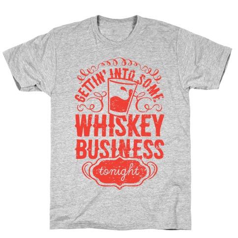 Whiskey Business Mens T-Shirt
