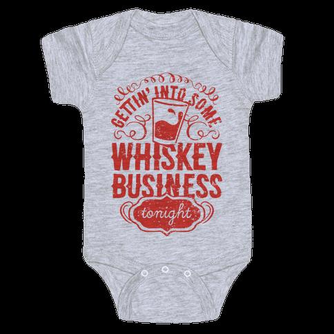 Whiskey Business Baby Onesy