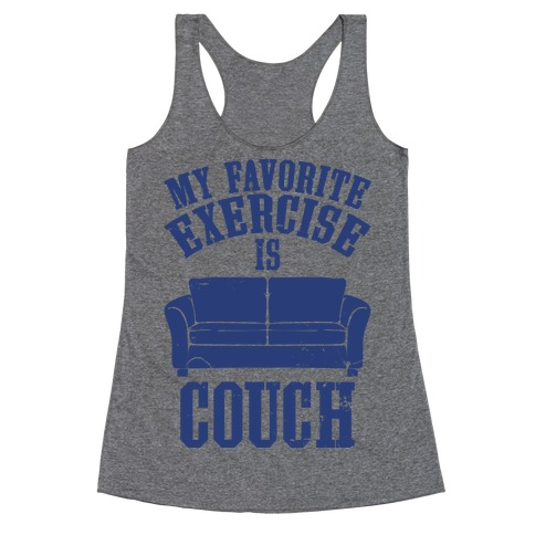 Favorite Exercise Racerback Tank Top