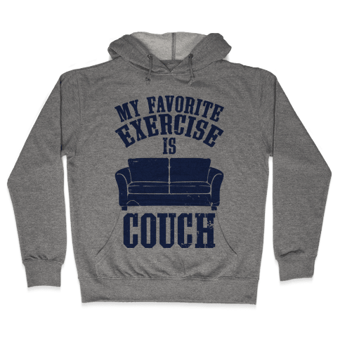 Favorite Exercise Hooded Sweatshirt