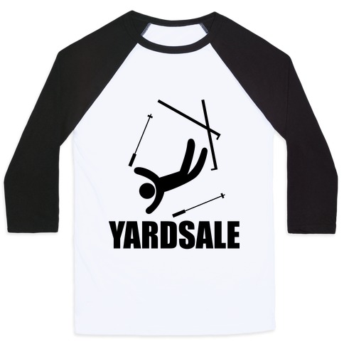 Yard Sale Baseball Tee