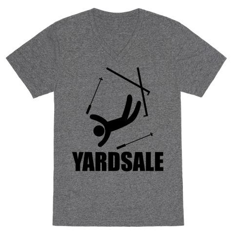 Yard Sale V-Neck Tee Shirt