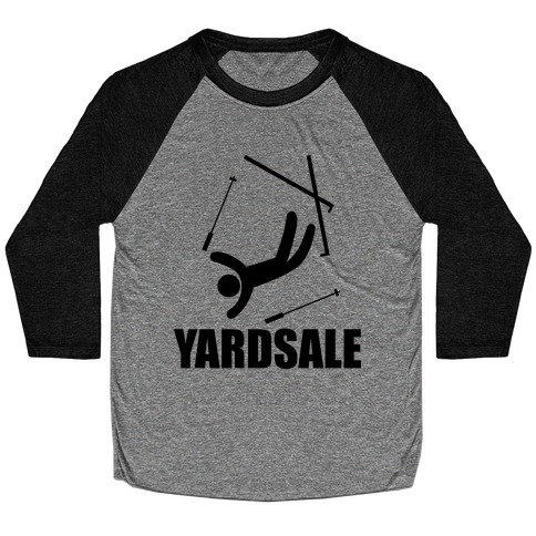 Yard Sale Baseball Tee