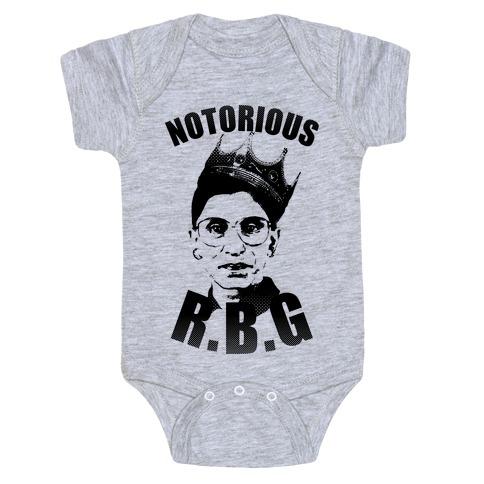 Notorious R.B.G. Baby Onesy