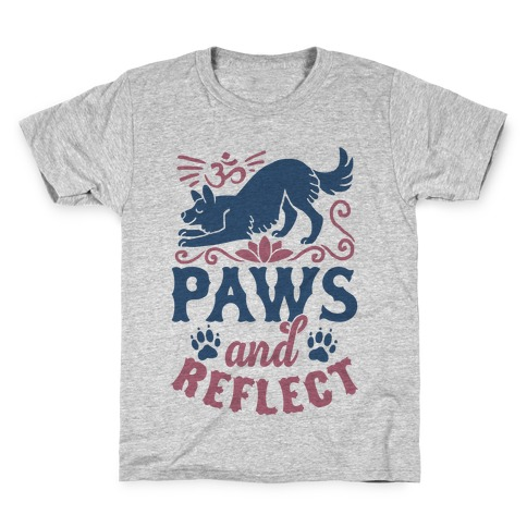 Paws And Reflect (Dog) Kids T-Shirt