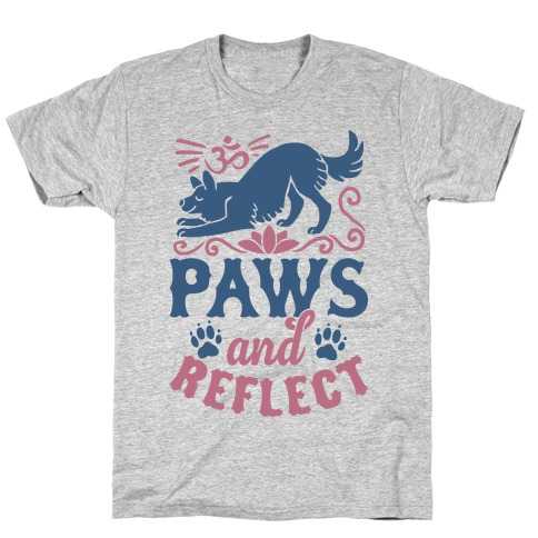 Paws And Reflect (Dog) T-Shirt