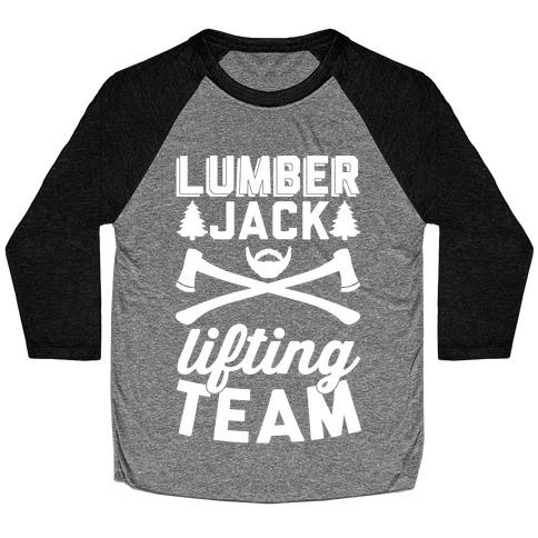 Lumberjack Lifting Team Baseball Tee