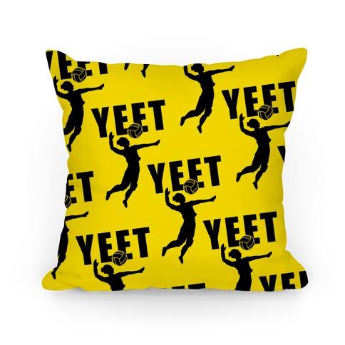 Volleyball YEET Pillow