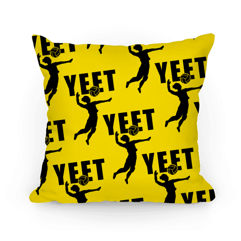 Volleyball YEET Pillow