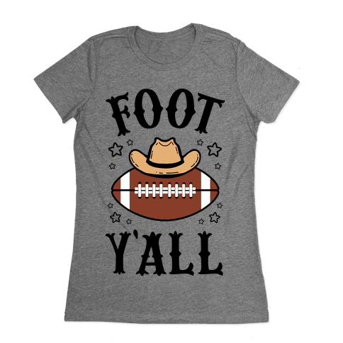 Footy'all Womens T-Shirt