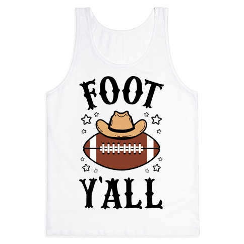 Footy'all Tank Top