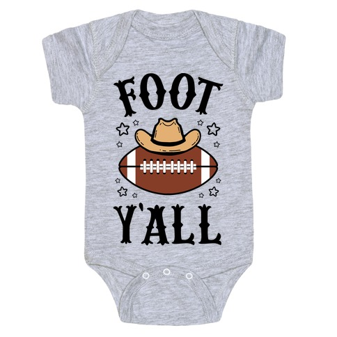 Footy'all Baby One-Piece