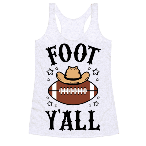 Footy'all Racerback Tank Top