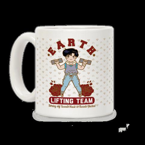 Earth Lifting Team Parody Coffee Mug