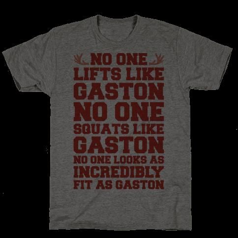 No One Lifts Like Gaston Parody