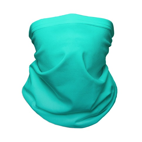 Teal Gradient Neck Gaiter