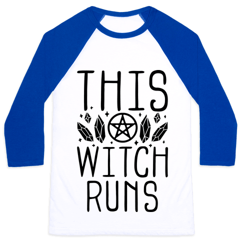 This Witch Runs Baseball Tee
