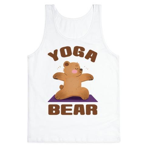 Yoga Bear Tank Top