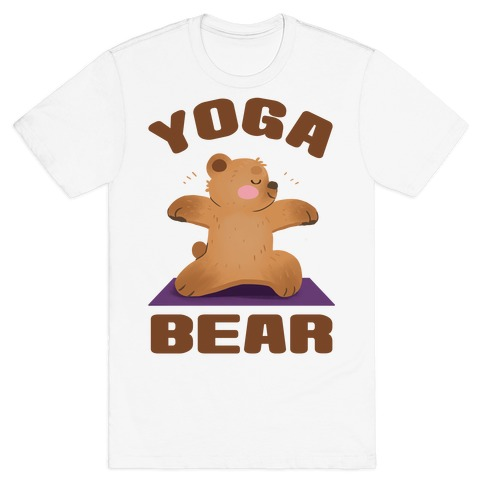 Yoga Bear T-Shirt