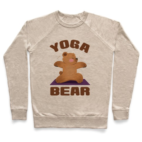 Yoga Bear Pullover