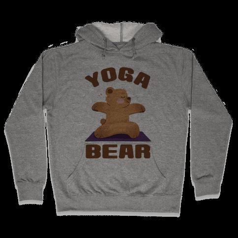 Yoga Bear Hooded Sweatshirt
