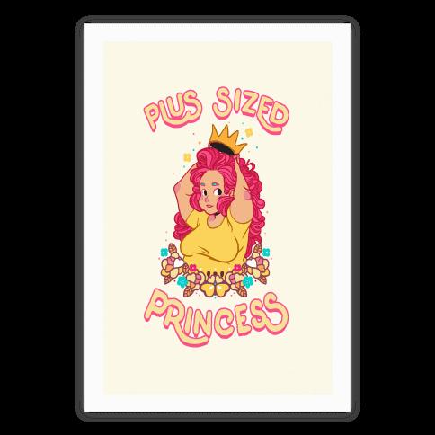 Plus Sized Princess Poster