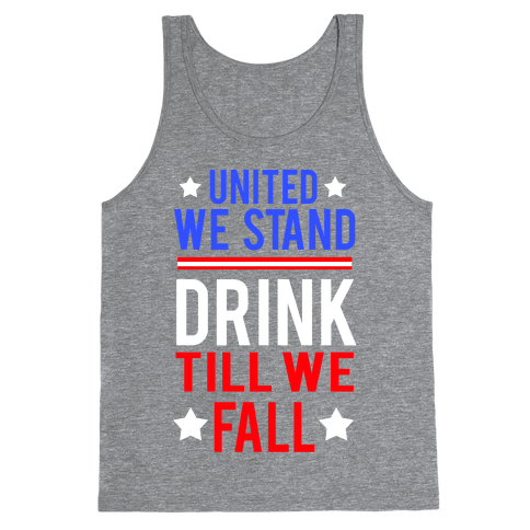 United We Stand Tank Top