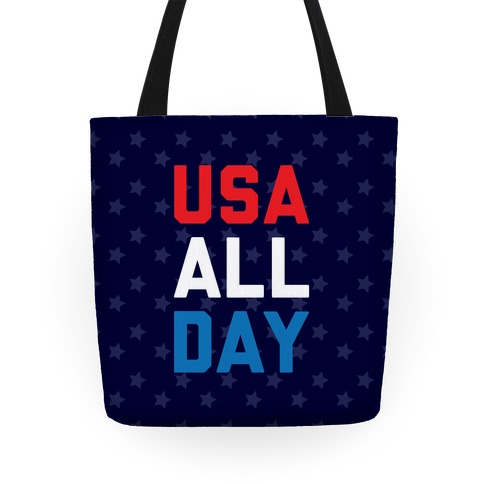 USA All Day Tote