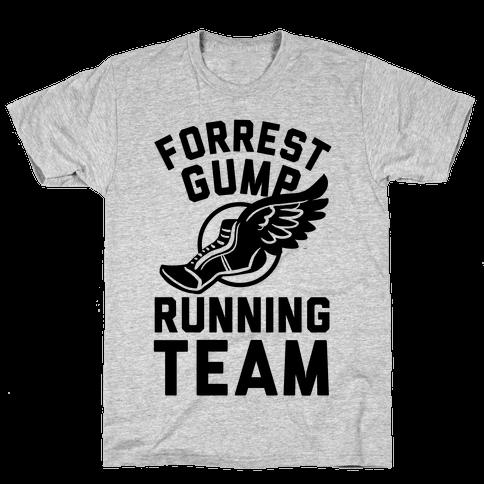 Forrest Gump Running Team Mens T-Shirt