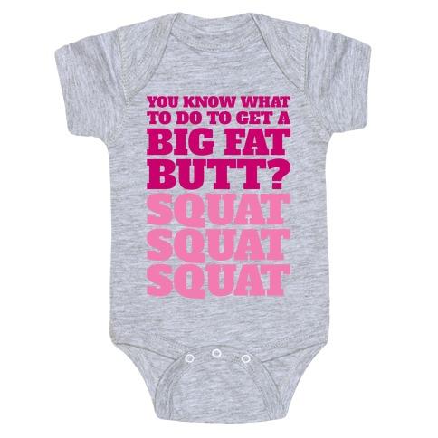 Wiggle Squats Baby Onesy