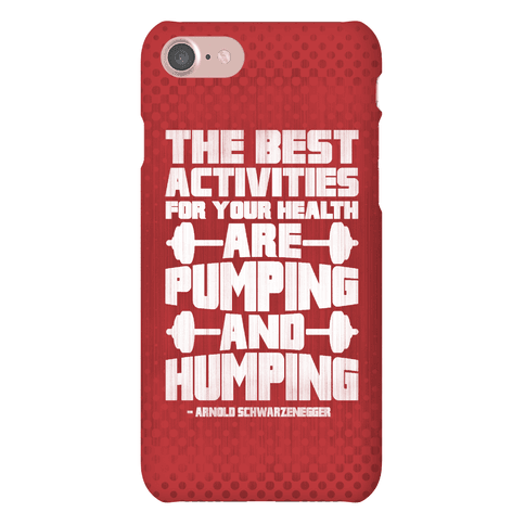 The Best Activities For Your Health Are Pumping And Humping