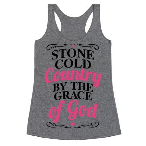 Stone Cold Country Racerback Tank Top