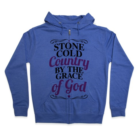 Stone Cold Country Zip Hoodie