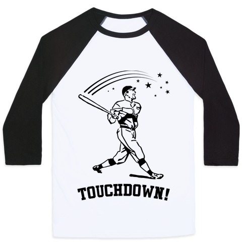 Touchdown Baseball Tee