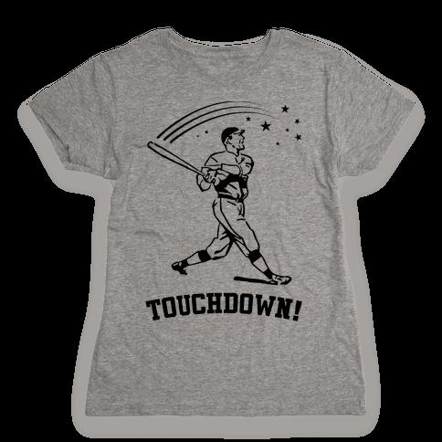 Touchdown Womens T-Shirt