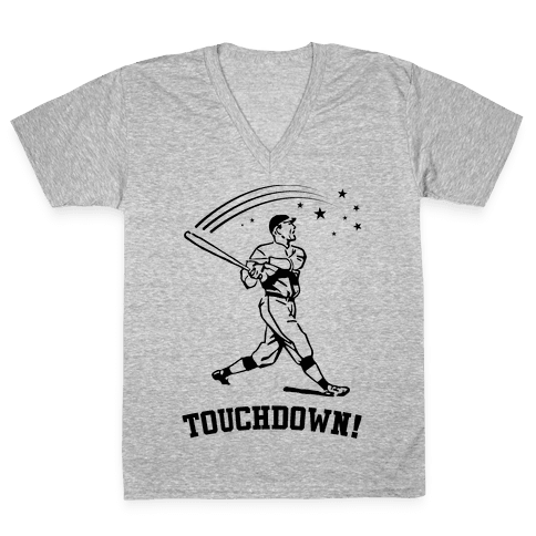 Touchdown V-Neck Tee Shirt