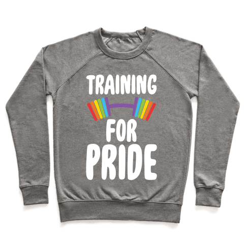 Training For Pride Pullover