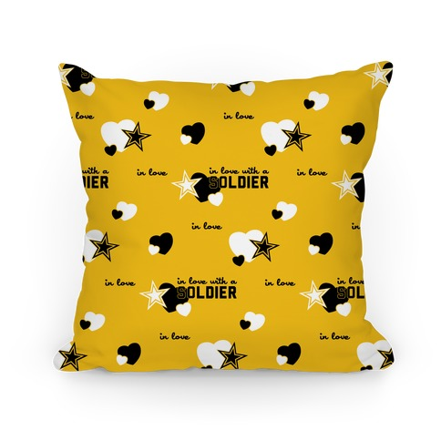 In Love with a Soldier Pillow