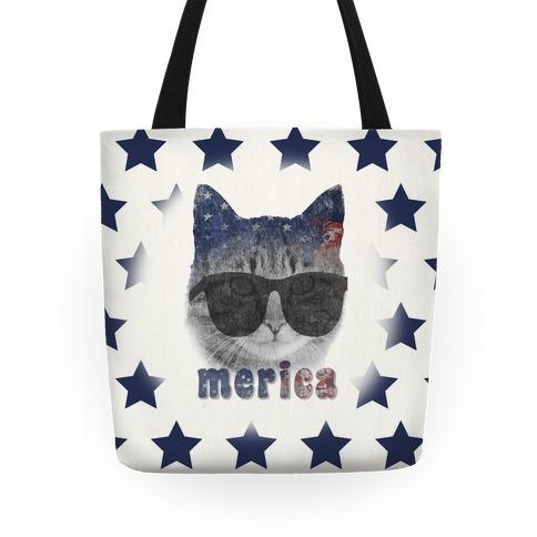 Merica Cat Tote