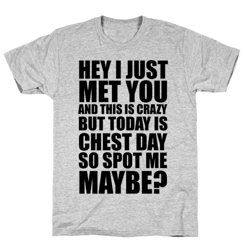 Spot Me Maybe? Mens T-Shirt