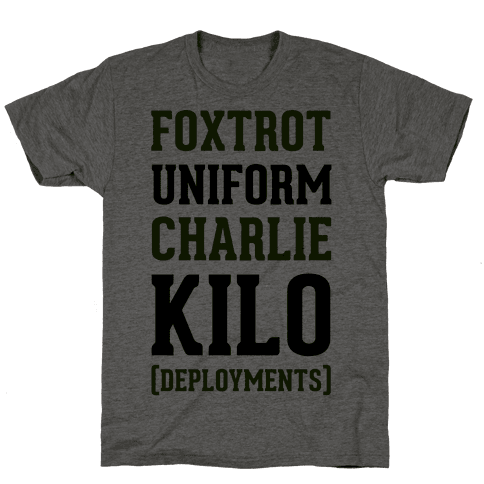 Foxtrot Uniform Charlie Kilo (Deployments)