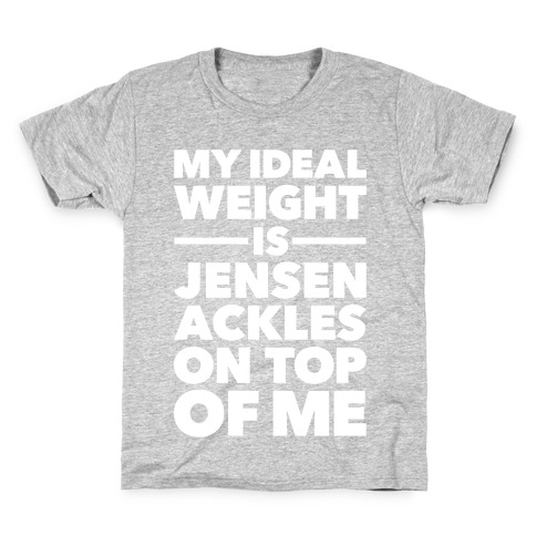 Ideal Weight (Jensen Ackles) Kids T-Shirt