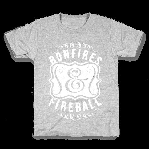 Bonfires And Fireball Kids T-Shirt