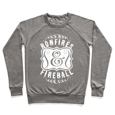 Bonfires And Fireball Pullover