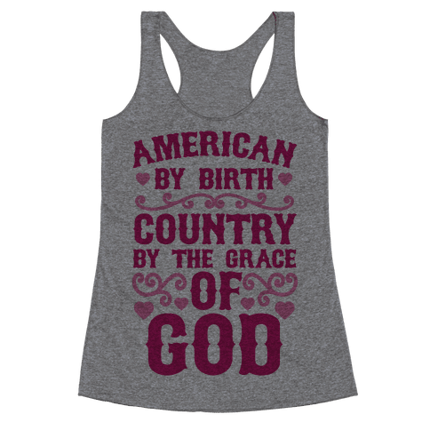 American Country Racerback Tank Top